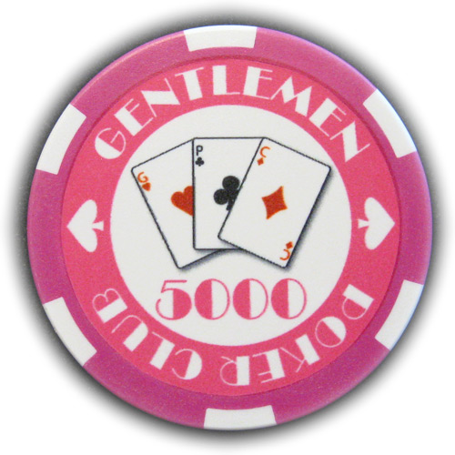 Pokerchip Gentlemen Poker Club