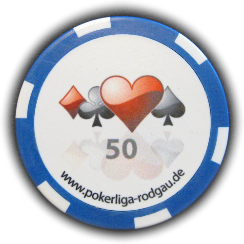 Pokerchip Pokerliga Rodgau