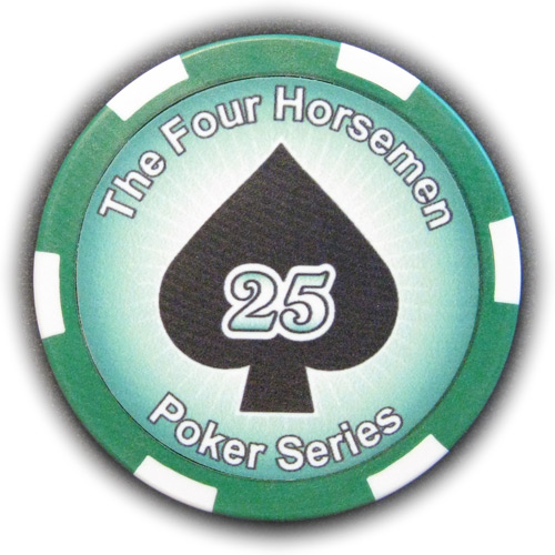 Pokerchip The Four Horsemen